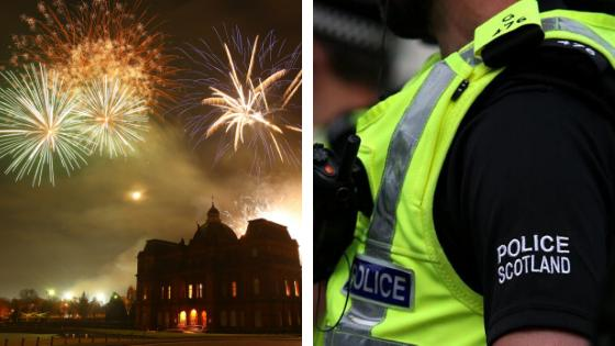 Teenagers charged for shooting fireworks at officers in Bishopbriggs