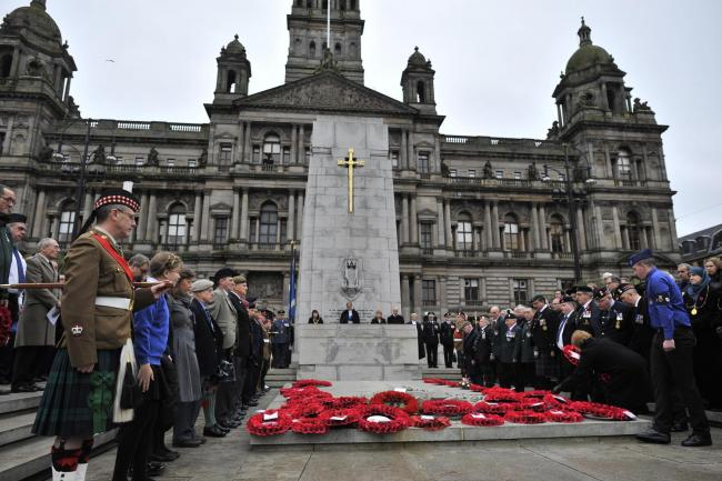 Hundreds are expected to gather for the Remembrance Sunday event