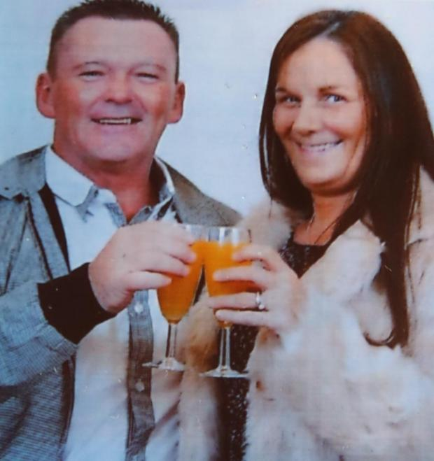 Glasgow Times: Margaret Beaton with husband Craig