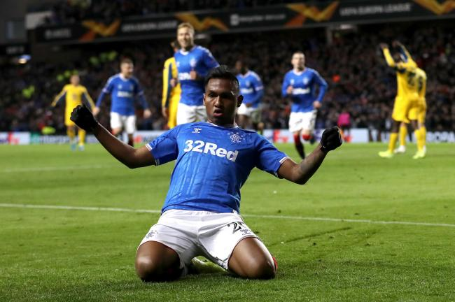 Alfredo Morelos got the all-important opener for Rangers against Porto with a stunning finish.