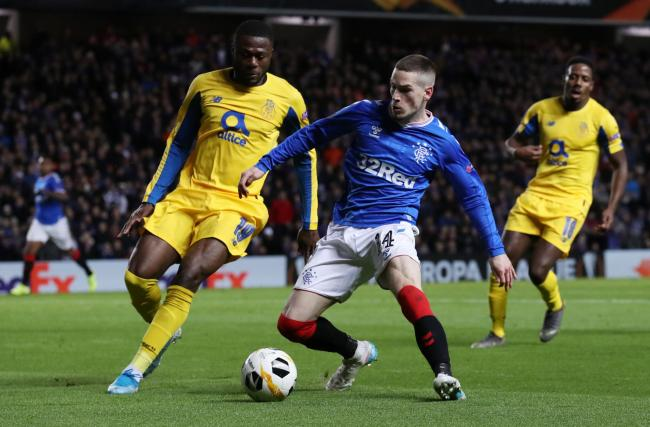Ryan Kent looks to be edging back to his best for Rangers.