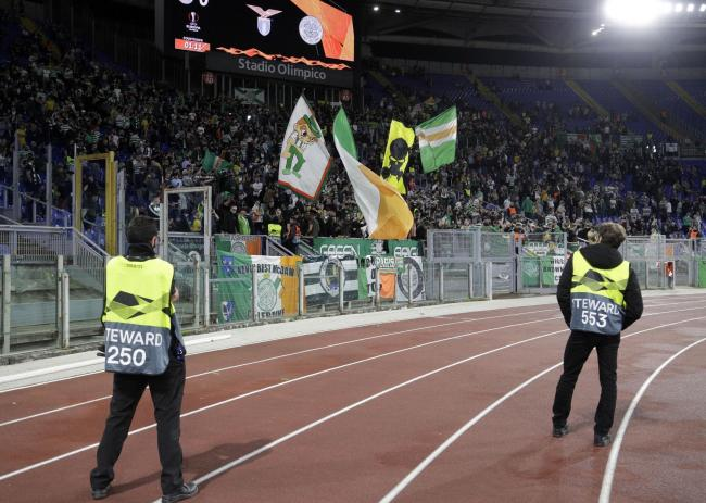 Young Celtic fan stabbed in Rome after Lazio clash
