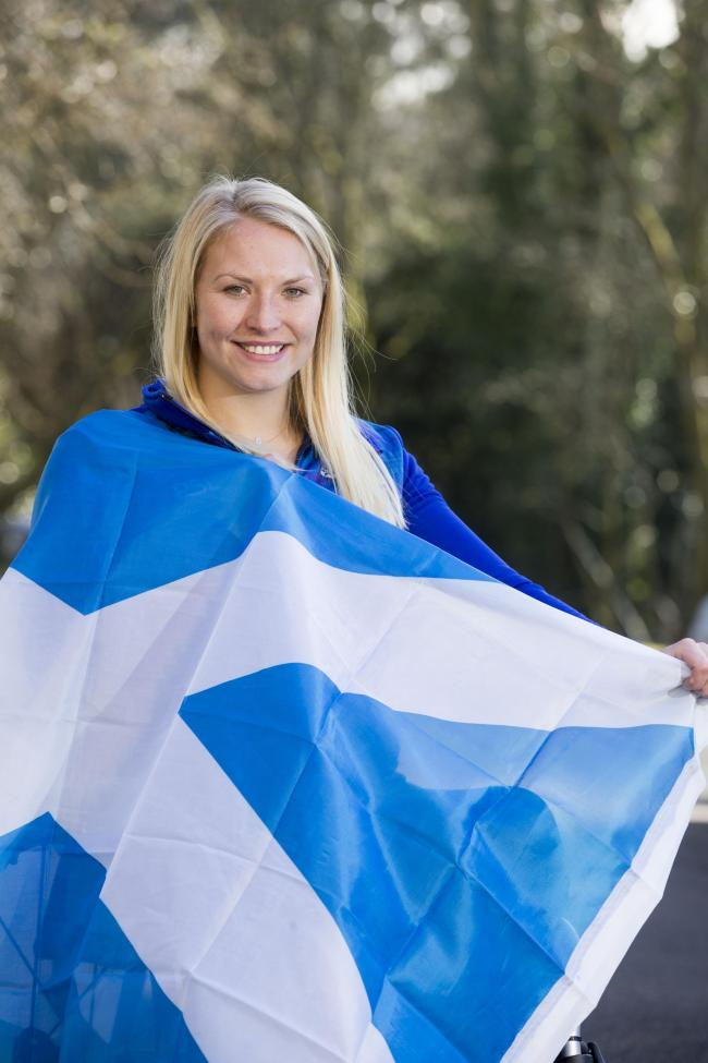 Sammi Kinghorn took bronze at the World Champs