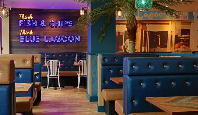 Glasgow's Blue Lagoon chippy sets grand re-opening date after makeover