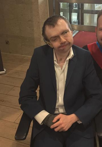 Glasgow Times: My brother David Aitchison, who uses a wheelchair, is unable to visit me by train