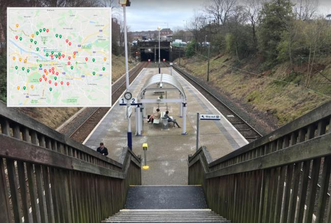 Less than half of railway stations in Glasgow are full accessible