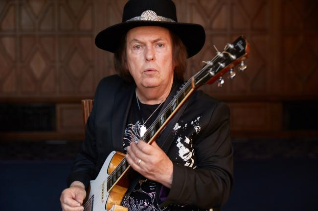 Slade star Dave Hill on staying in dodgy B'n'B's on Bath Street and shopping in Zara for his outfits