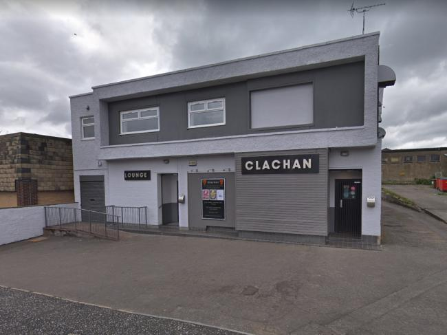 The incident took place at The Clachan Bar on September 21