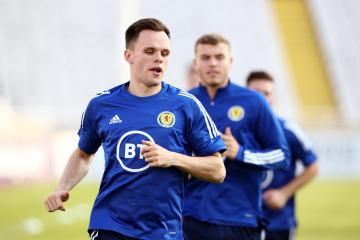 Lawrence Shankland rubbishes Celtic and Rangers transfer rumours as he vows to become Scotland regular