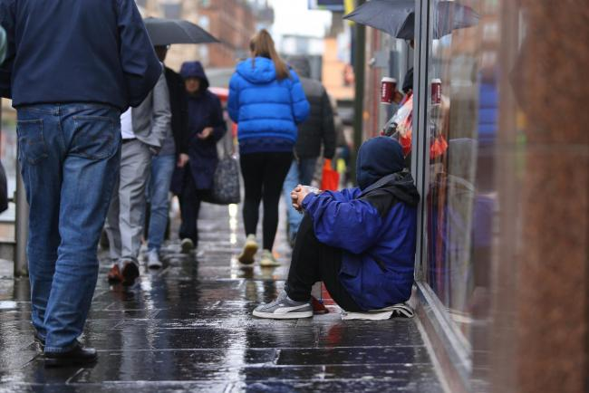 Groups have called for action to support the city's homeless population
