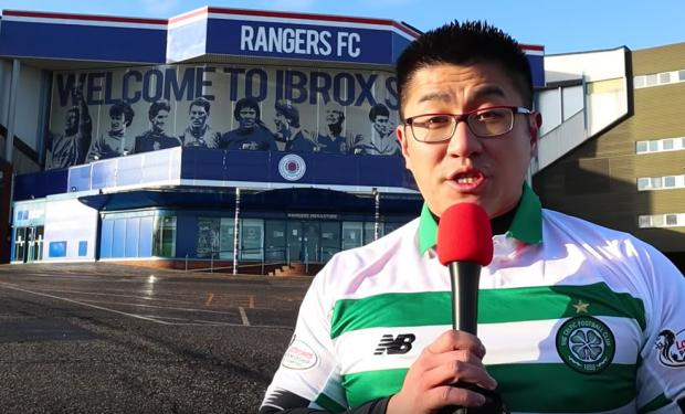 Glasgow Times: Ninh Ly at Ibrox