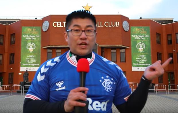 Glasgow Times: Ninh Ly at Celtic Park