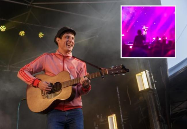 Gerry Cinnamon lashed out at the bottle yob last week