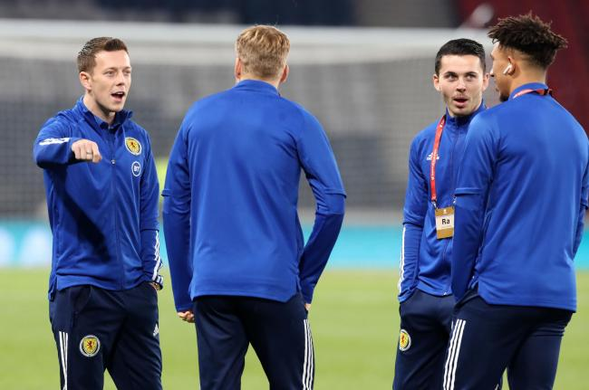 Scotland's Callum McGregor before the UEFA Euro 2020 Qualifying match at Hampden Park, Glasgow. PA Photo. Picture date: Tuesday November 19, 2019. See PA story SOCCER Scotland. Photo credit should read: Steve Welsh/PA Wire. RESTRICTIONS: Use subject