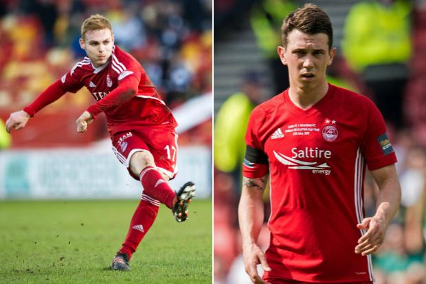 Fraser Fyvie shares brilliant throwback with Rangers star Ryan Jack from Aberdeen youth days