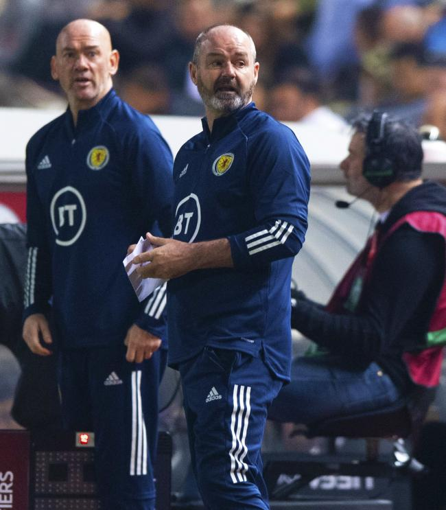 NICOSIA, CYPRUS - NOVEMBER 16: Scotland manager Steve Clarke is pictured during the UEFA European qualifier between Cyprus and Scotland, at the GSP Stadium, on November 16, 2019, in Nicosia, Cyprus. (Photo by Alan Harvey / SNS Group).