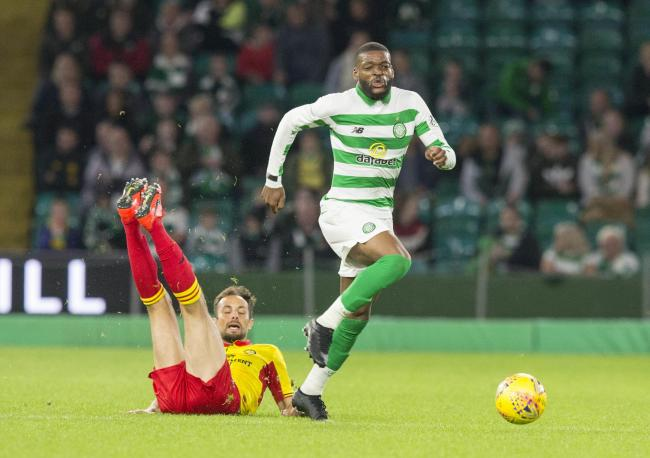 Neil Lennon believes Olivier Ntcham has 'settled down' at Celtic after previous claims he wanted to leave