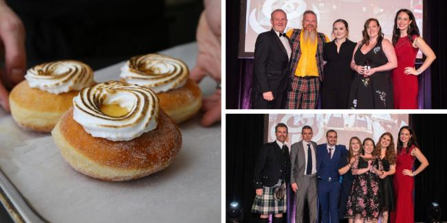 Tantrum Dougnuts and The Pot Still take gold in the regional finals of the Scottish Thistle Awards