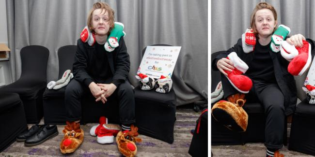 Scots encouraged to wear festive clothing like Lewis Capaldi for fundraising campaign