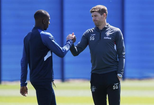 Steven Gerrard squashes 'made-up' story linking Glen Kamara with Serie A giants Juventus