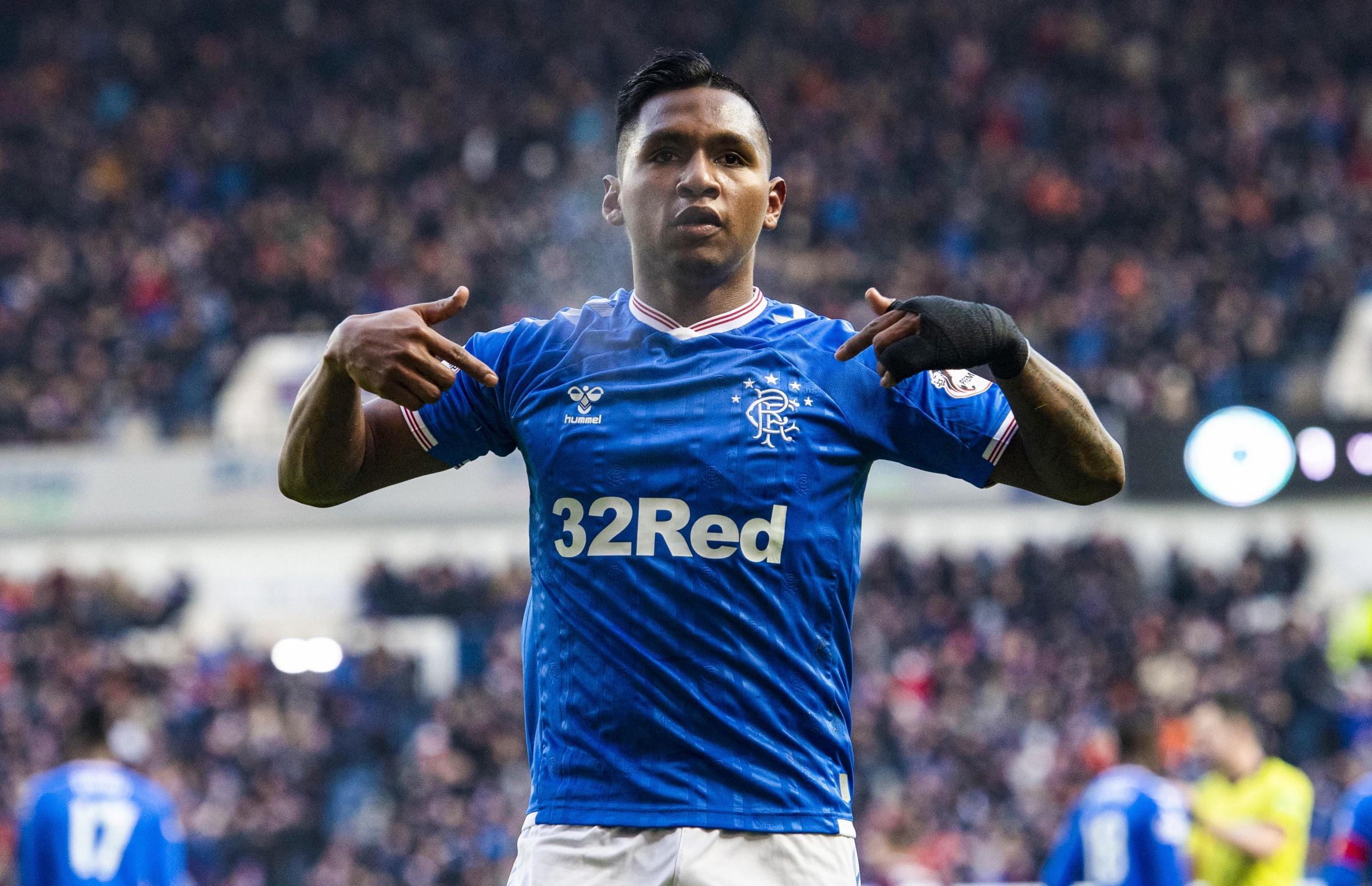Derek Johnstone: Rangers shouldn't accept less than £30m for Alfredo Morelos