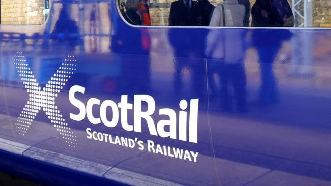 Glasgow train services hit by flooding on the line