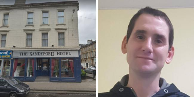 Missing man, 36, last seen heading towards Glasgow city centre