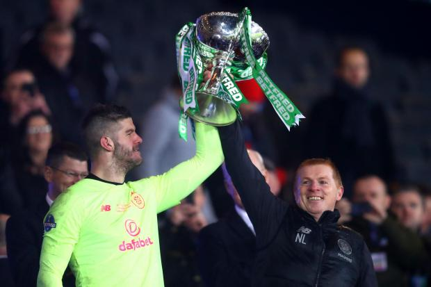 Fraser Forster to Celtic? Neil Lennon provides transfer update on pursuit of England goalkeeper