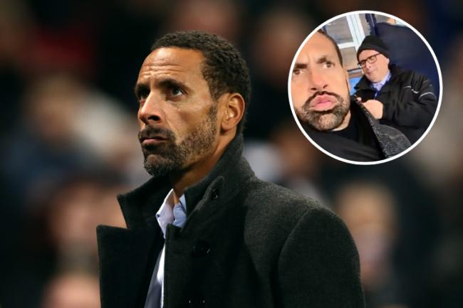 Manchester United legend Rio Ferdinand applauds Hampden atmosphere as he takes in Betfred Cup final in Celtic end