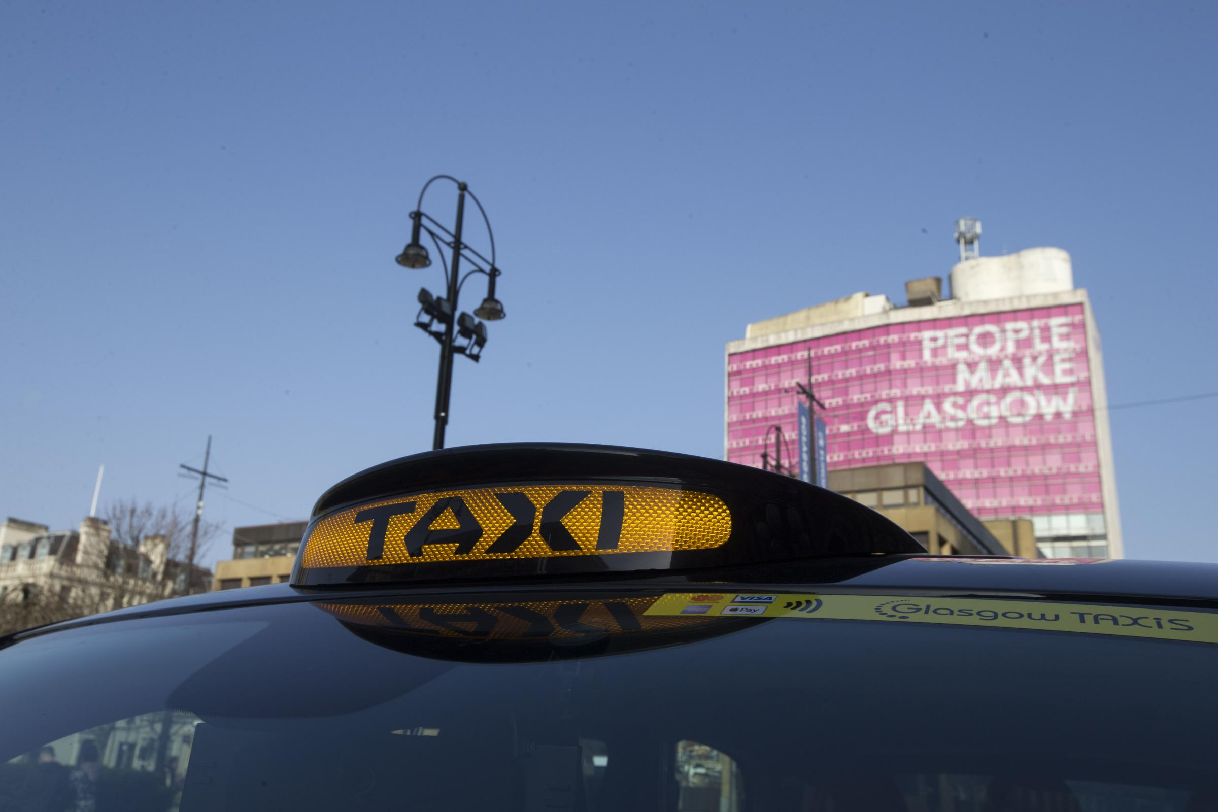 Glasgow City Council discuss how extra funding can be sourced for city taxi drivers