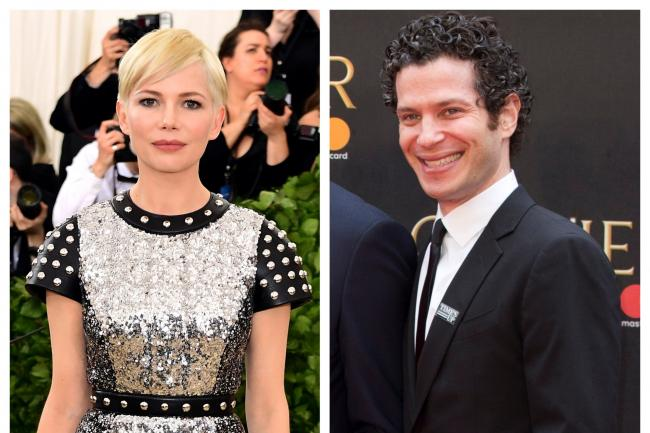 Image result for images of Actress Michelle Williams is pregnant and engaged to director Thomas Kail eight-months after split from husband, Phil Elverum