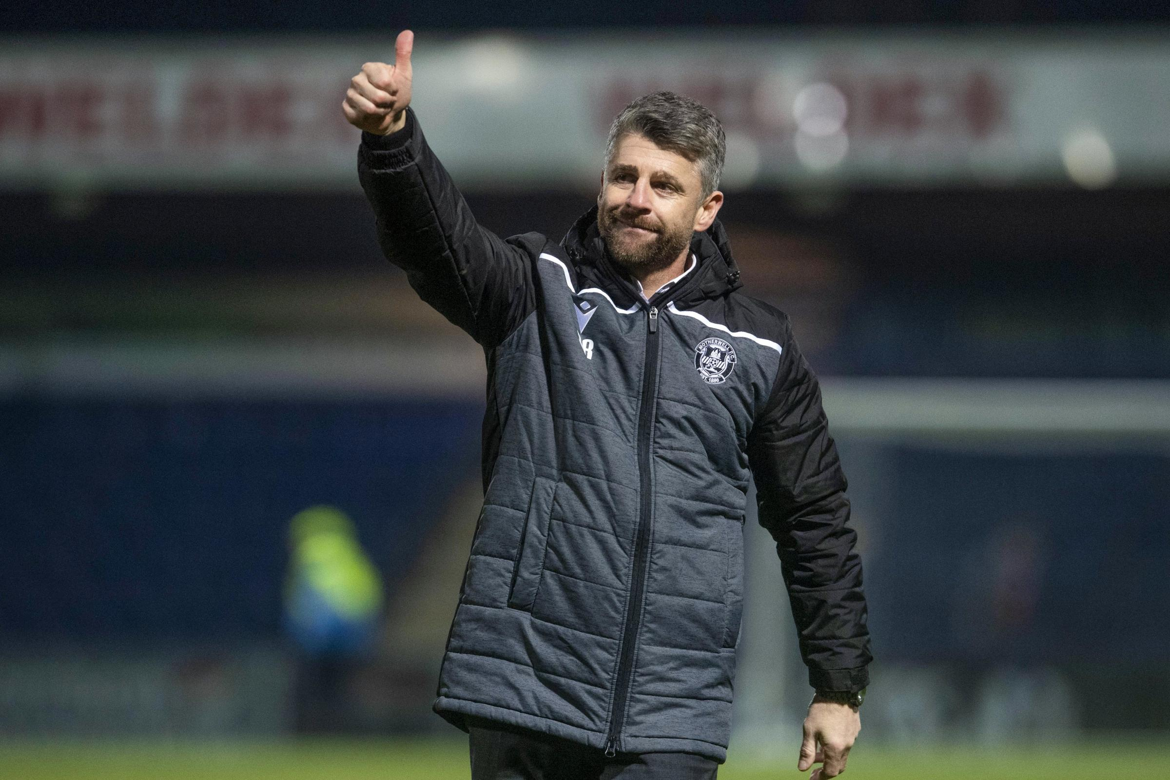 Stephen Robinson delighted as his Motherwell boys become men
