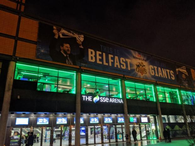 Glasgow Times: The SSE Arena. Picture; Stephen Mcilkenny