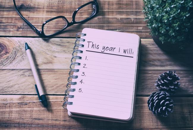 Plan, Checklist, Goal, Letter, List, New Year Resolution.