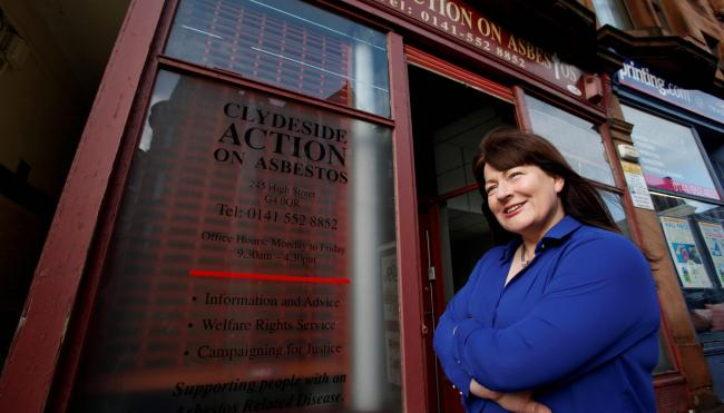 Phyllis Craig said Action on Asbestos would now face 'severe financial strain'. Picture: Martin Shields