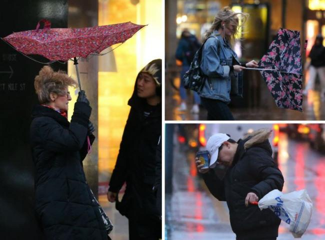 Gusts of up to 80mph hit the country