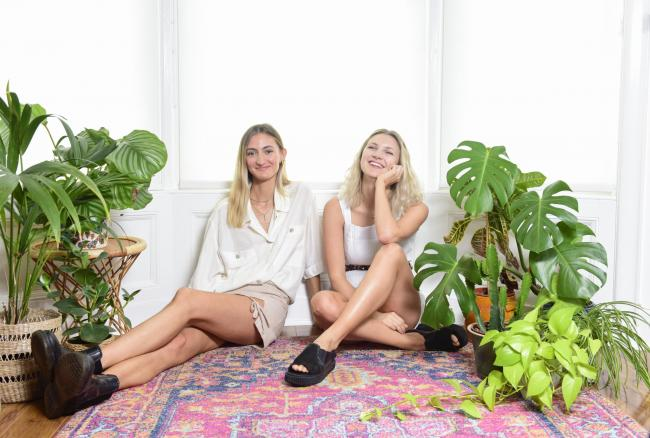 Glasgow-based childhood friends Christie Eccles and Karoline Hermansen launched the sustainable swimwear brand in April last year