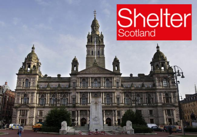 Shelter Scotland has withdrawn legal case against Glasgow City Council