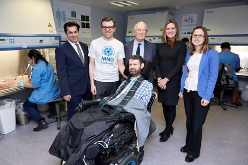 MND Scotland launch new clinical drug trial