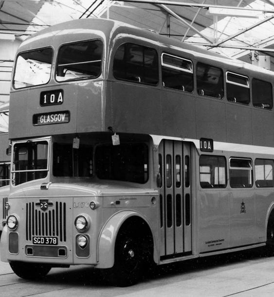 1963 - Fleet of New Glasgow Buses.Evening Times - Times Past.
