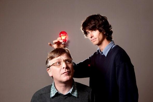 Norman Blake and Euros Childs, of Teenage Fan Club