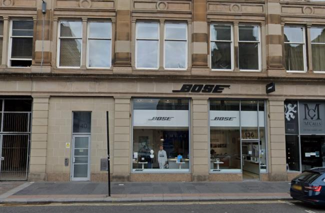 Bose Glasgow to stay open despite the tech company announcing the closure of all UK stores.