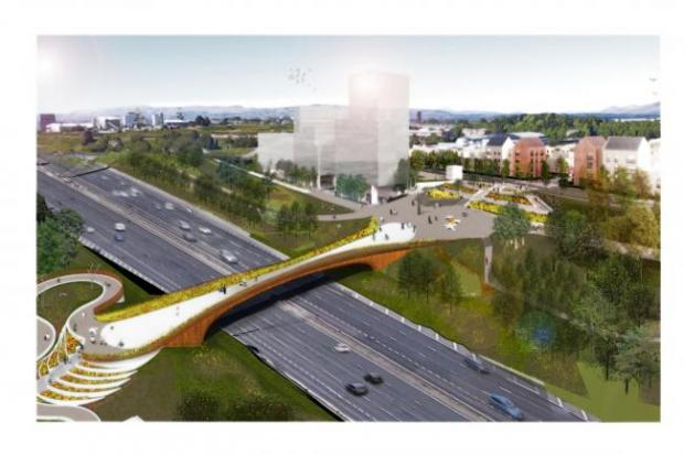 Sighthill Bridge artist's impression