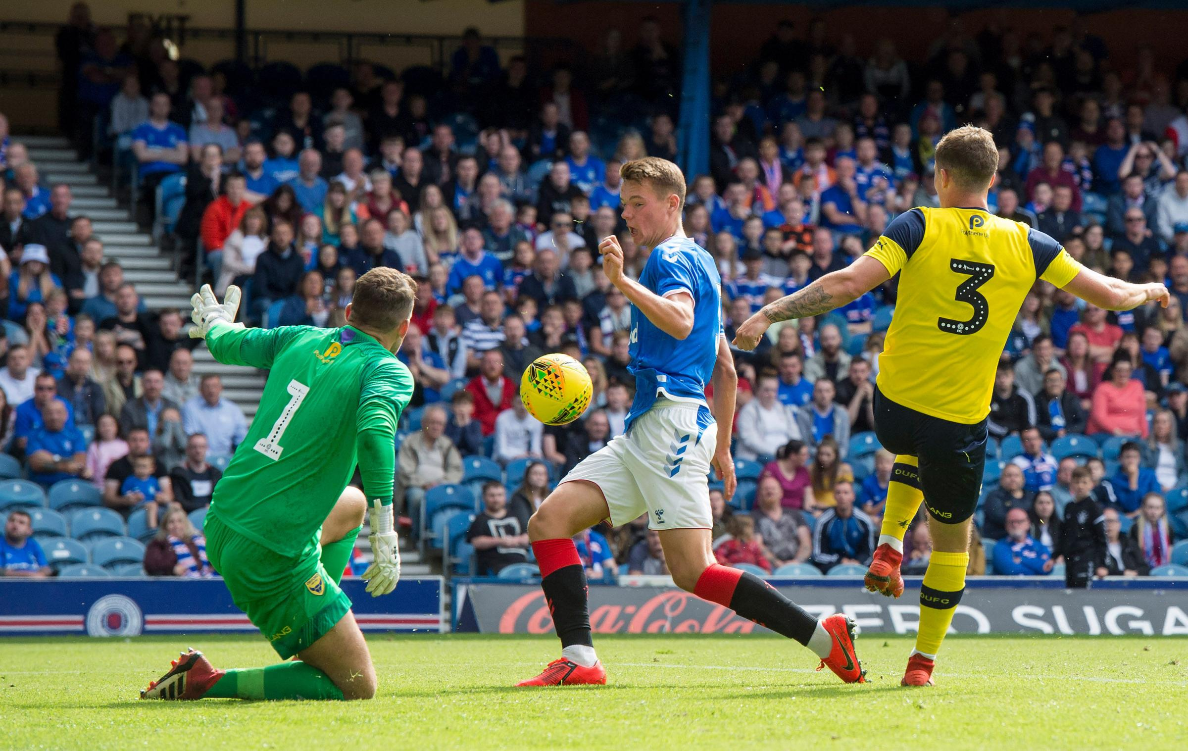 Partick Thistle want Rangers defender Lewis Mayo on loan