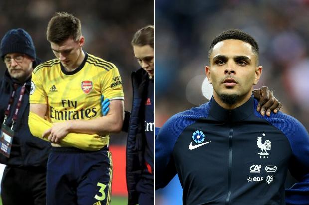 Kieran Tierney could face serious competition for Arsenal berth with Gunners set to move for Kurzawa