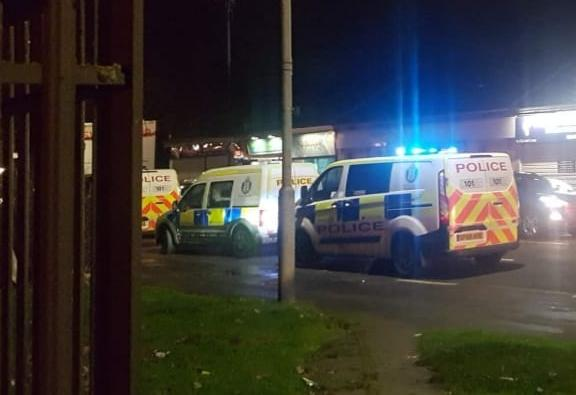 Police were called to near the Yee Man takeaway (Credit: No1Seems2Care Facebook)