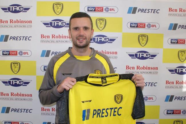 Burton Albion have signed Jamie Murphy