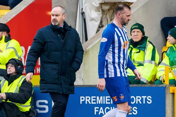 Kris Boyd aims light-hearted pop at Steve Clarke over Kilmarnock game time ahead of Celtic clash