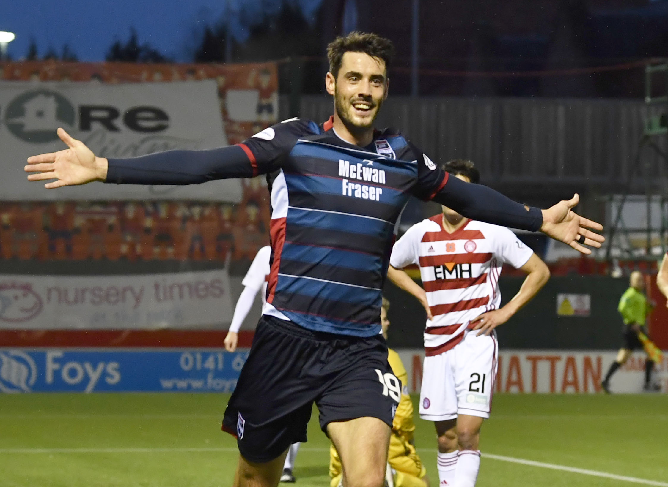 Partick Thistle sign Brian Graham from Ross County