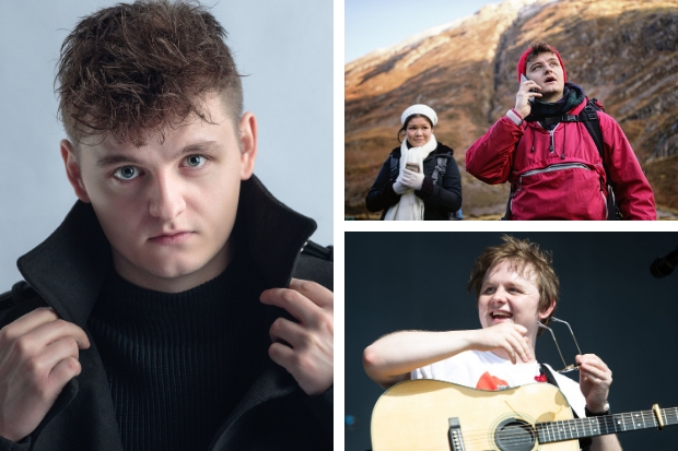 Anthony Capaldi talks acting and brother Lewis Capaldi
